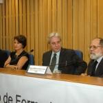 Ministro Barros Levenhagen, Ministra Maria Cristina Irigoyen Peduzzi, Ministro Renato de Lacerda Paiva e Juiz Giovanni Olsson.