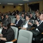 Alunos-juízes do curso de Formação de Formadores em Administração Judiciária de Vara do Trabalho.