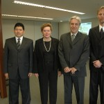 Visita de magistrados do Equador - 01