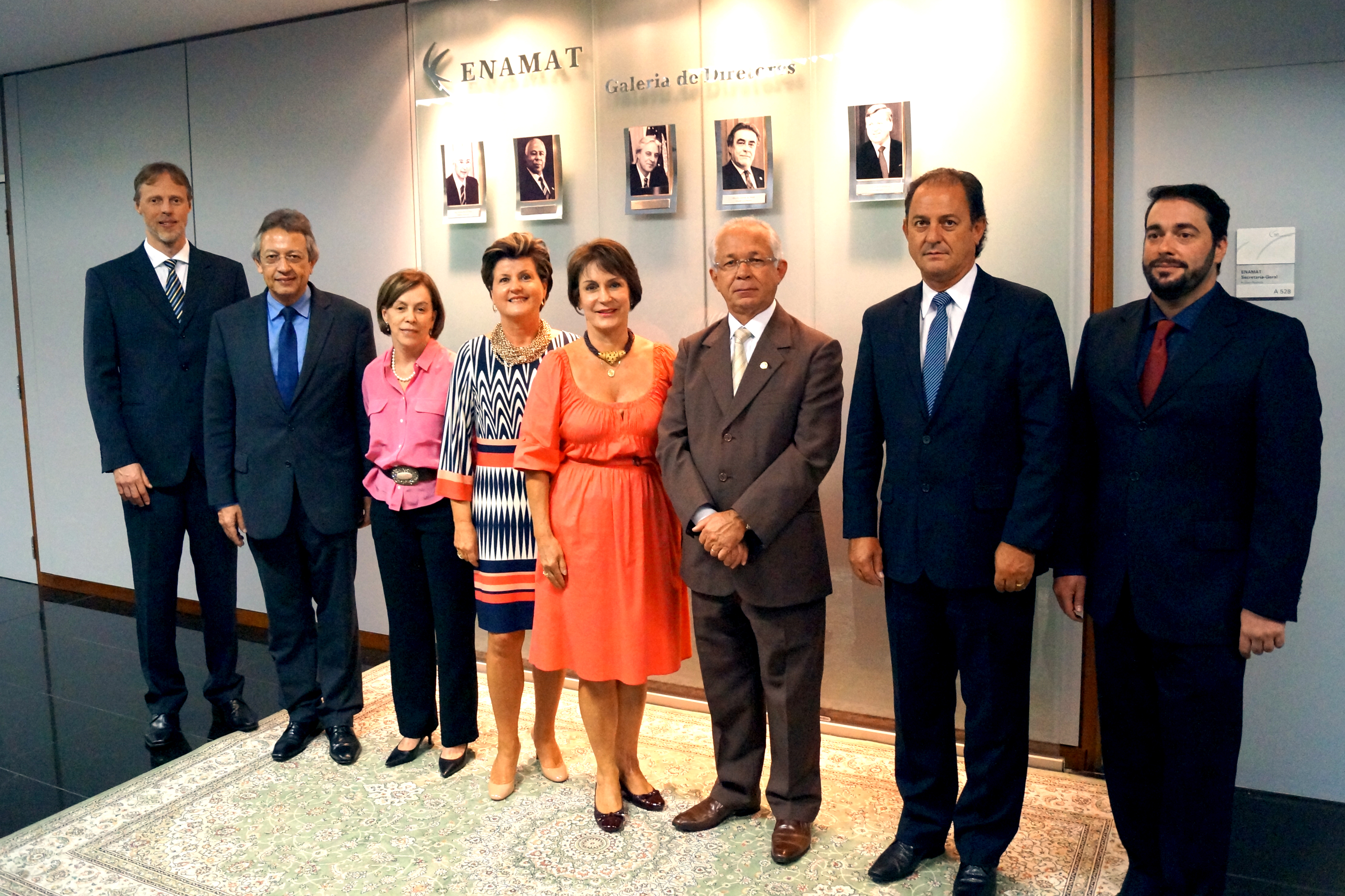 Seventh Administrative Board of ENAMAT 2016-2018