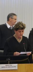 Ministra Maria de Assis Calsing