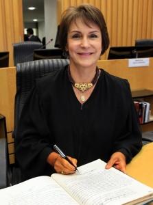 Ministra Maria Cristina Irigoyen Peduzzi