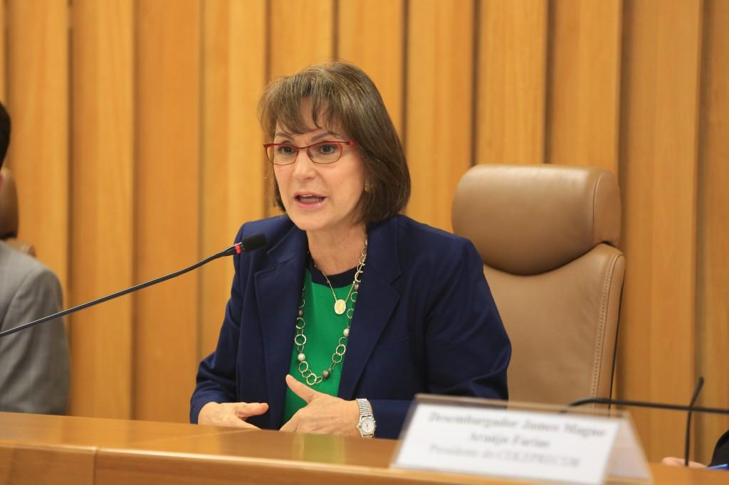 Diretora da Enamat e Ministra Maria Cristina Irigoyen Peduzzi