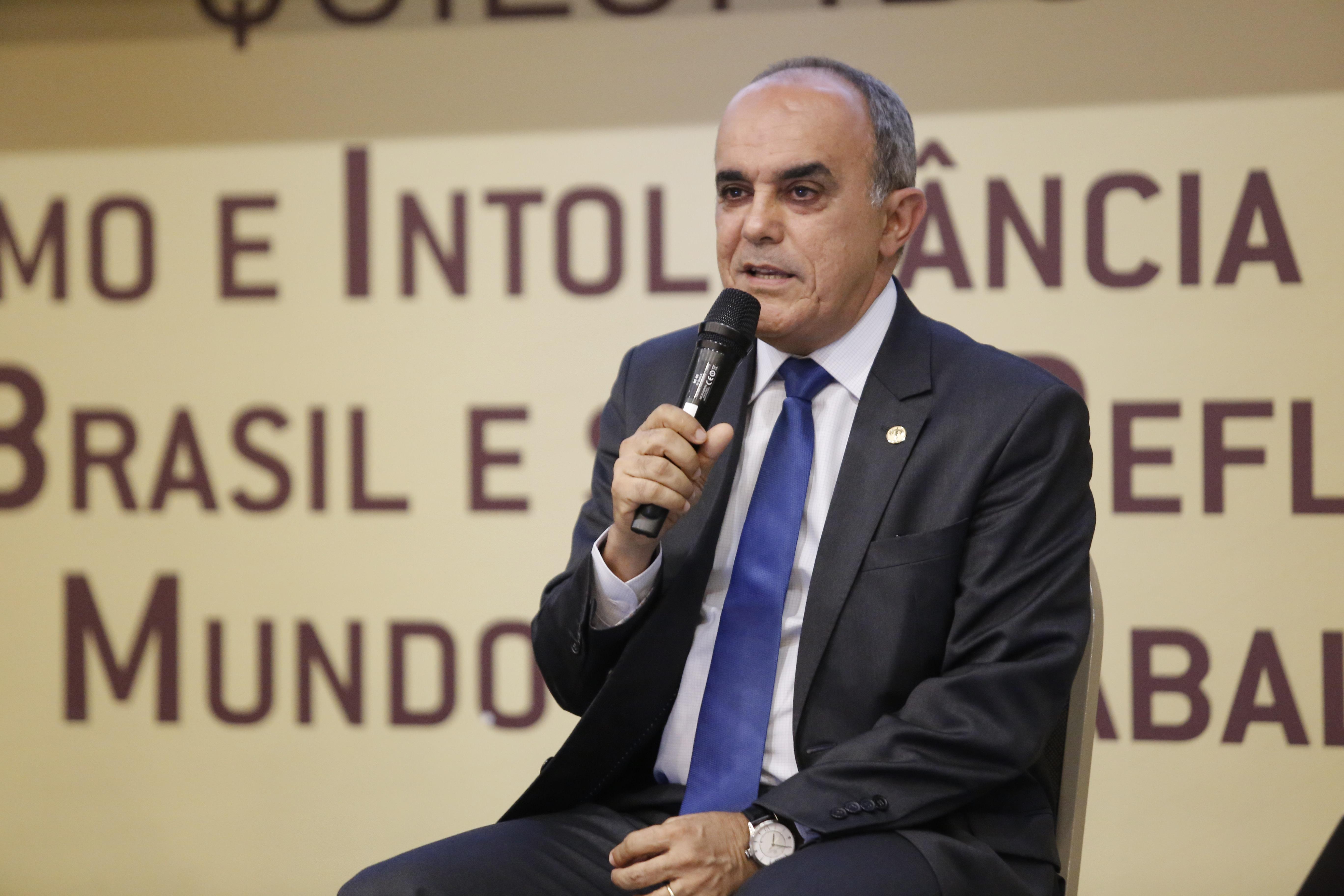 O ministro falou sobre as mudanças promovidas pela reforma trabalhista acerca do dano moral (foto: divulgação/MPT)