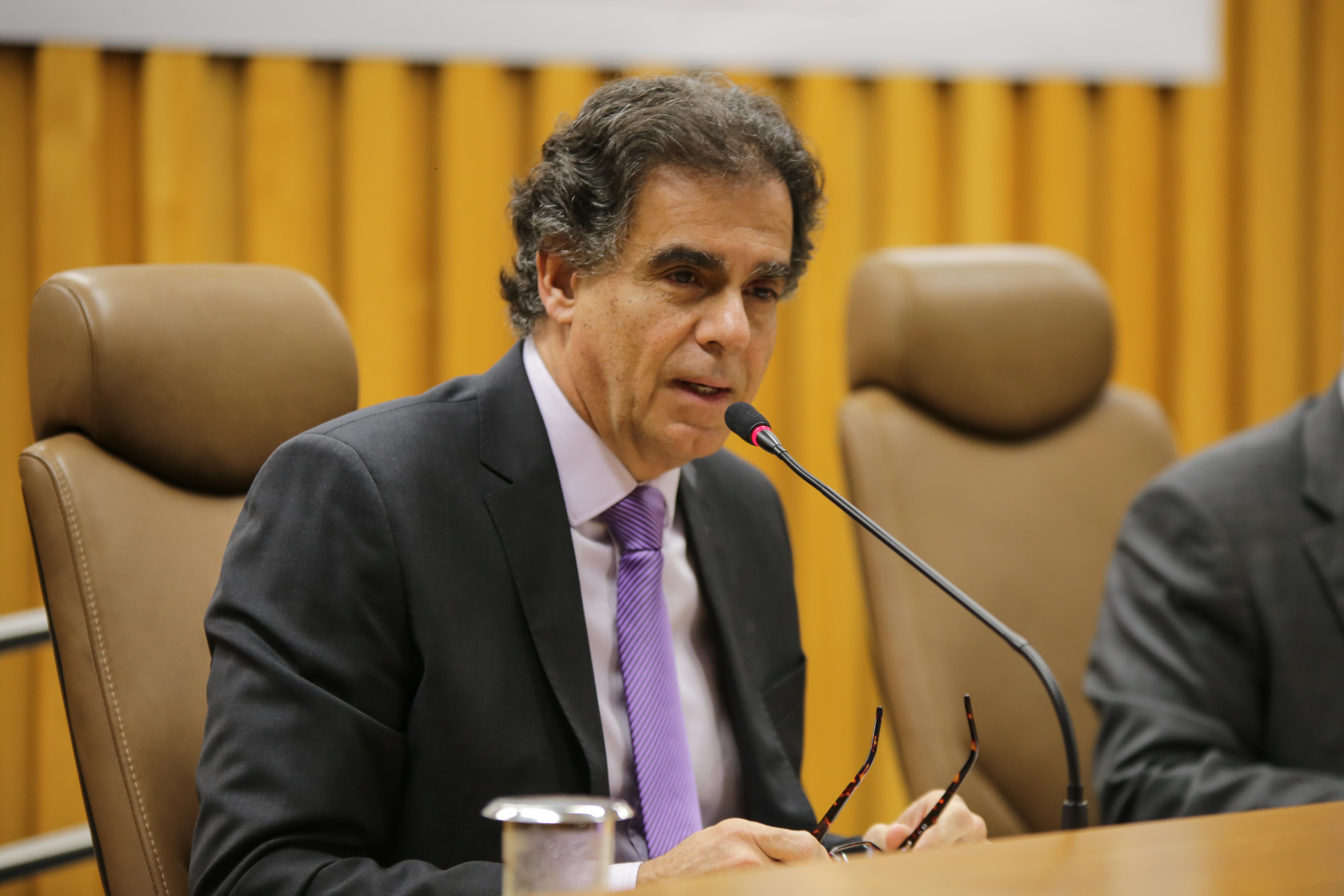 Para o ministro Vieira de Mello, diretor da Enamat, a conciliação facilita a pacificação social no âmbito do capital e do trabalho (Foto: Dimmy Falcão).