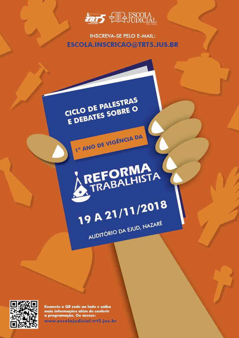 CARTAZ WEB-ciclo de palestras reforma trabalhista