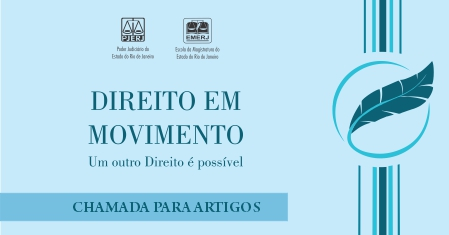 Folder da revista Direito em Movimento
