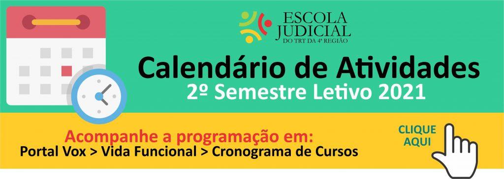 Calendário ejud4