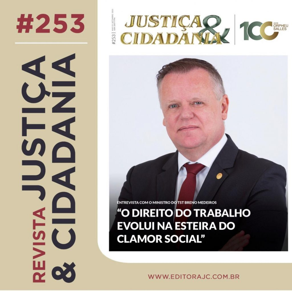 Capa da revista Justiça & Cidadania